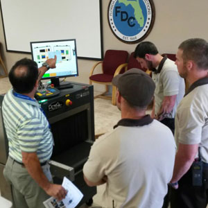 x-ray scanner user training